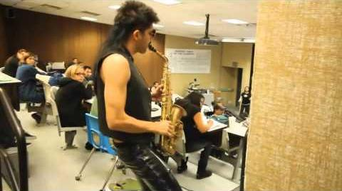 Sexy Sax Man Careless Whisper Prank feat. Sergio Flores (directors cut)2
