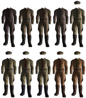 DUTMLian Officers Uniforms