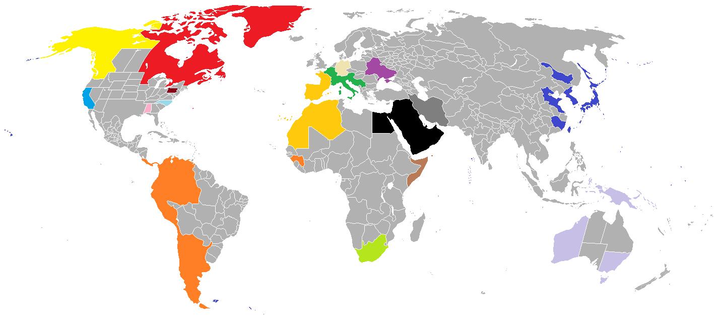 Image BlankMapWorldSubdivisionspng Nation Creation Wiki - World map blank subdivisions