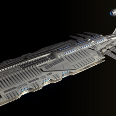Nova-class Battle Cruiser. A common site in the Fleet