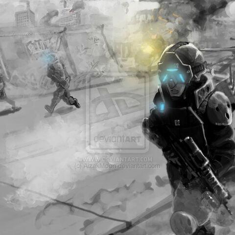 RMG issued 2070 line assault gear