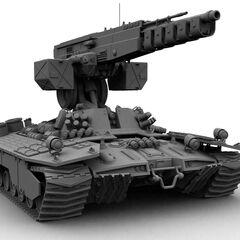 Metal Calvary I Railgun