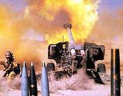 Artilleryfire