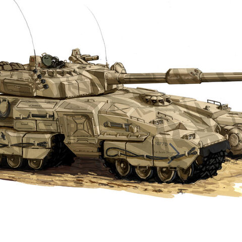 the RMG improved 2070 line Gv-6 Main battle tank