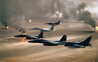 Jet fighter in combat zone 2000x1274