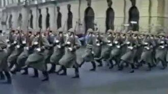 AFH Kradena Guards Marching