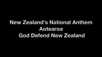 New Zealand's National Anthem with Lyrics