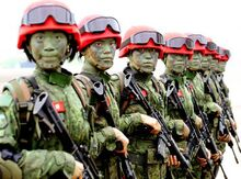 Chinese Paratroopers