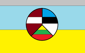 Flag of Baltic Block