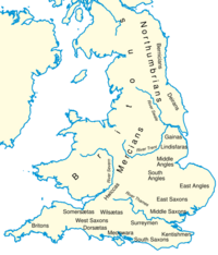 British Kingdoms circa 600