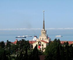 Sochi sea port