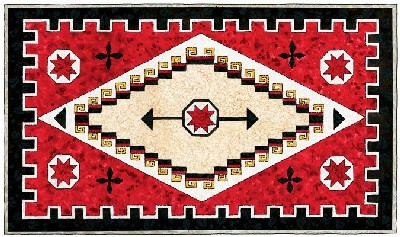 Image - Navajo-rug-quilted-wall-hanging-pattern-12-1-.jpg | Native ...