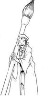 Tsuyukami writing