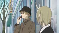 Natsume Yuujinchou - OAD natori eating pokurin choco