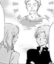 Natsume thinking what Isamu looks like