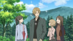 Natori with fans