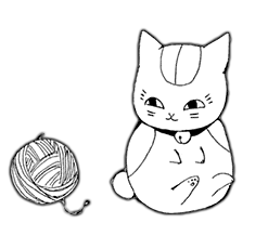 Chp.68-nyanko with yarn