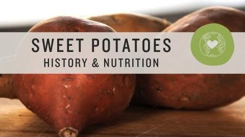 Sweet Potatoes History & Nutrition