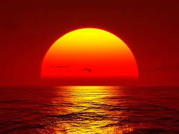Sun seting