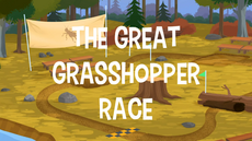 The Great Grasshopper Race title card