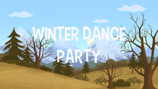 Winter Dance Party title card