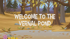 Welcome To The Vernal Pond title card
