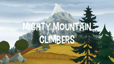 Mighty Mountain Climbers title card