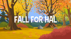 Fall For Hal title card