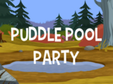 Puddle Pool Party