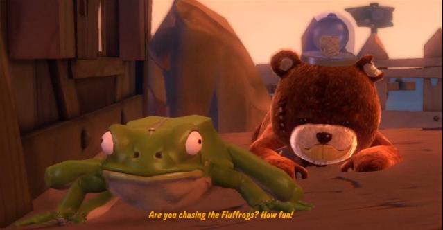 Fluffrog