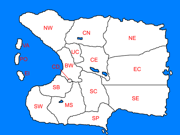 Nava with province names