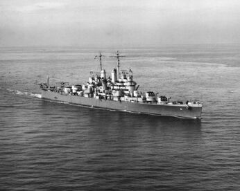 USS Cleveland CL-55