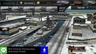 Dunkerque Class Battleship