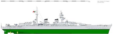 Umberto Pugliese 41 Battleship