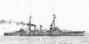 Japanese Battleship Kawachi