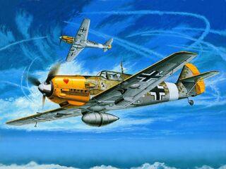 Messerschmitt BF109 Wallpaper yvt2
