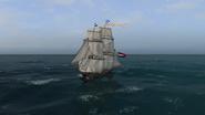 Brig Sailing Front