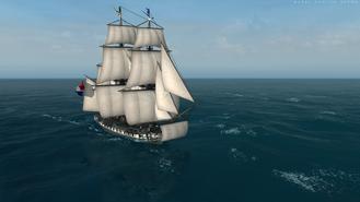 Pirate Frigate Front