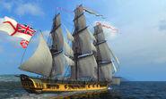Naval Action HMS Surprise