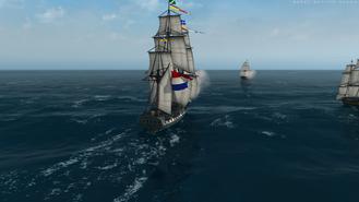 Pirate Frigate Rear