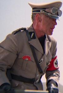 Leibstandarte-SS Adolf Hitler Standartenführer licking lips