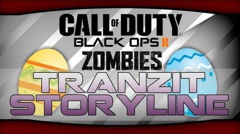 Black Ops 2 Zombies - TranZit Storyline! New Farm TV Easter Egg Quotes! The Voices' Plots! - Part 1