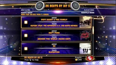 NBA 2K13 Soundtrack Tracklist 2K Beats by Jay-Z