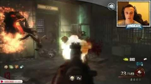 Mob Of The Dead - Round 35 Speed Run! Gameplay Tutorial! w Syndicate!