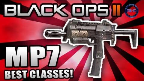 """Black Ops 2 """"MP7"""" - Best Class Setup (Nuclear Class) - Map Pack Multiplayer Gameplay"""