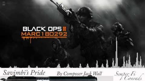Black Ops 2 Soundtrack Savimbi's Pride