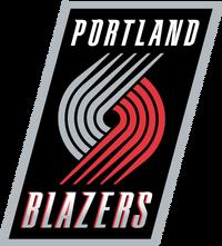 842 portland trail blazers logo
