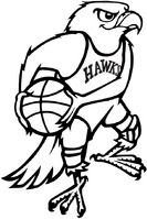 Atlanta Hawks logo 1968–69