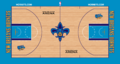 New Orleans Hornets court logo 2010-2013.png
