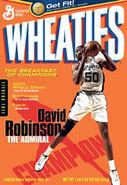 David Robinson Wheaties 2004